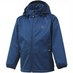 Color Kids Softshell Ralado dark blue