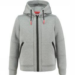 Ayacucho Junior Softshell Hygo Light Grey Mixture