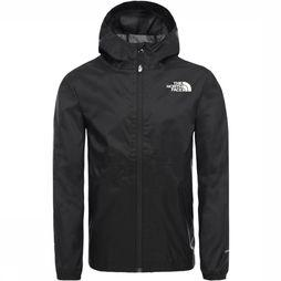 The North Face Jas Youth Zipline Rain Zwart