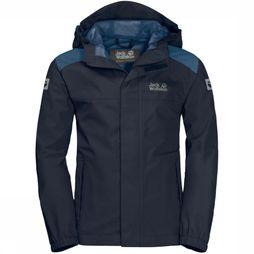 Jack Wolfskin Coat Oak Creek dark blue/jeans blue