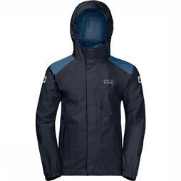 Jack Wolfskin Coat Oak Creek Marine/Dark Blue