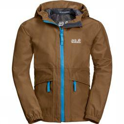 Jack Wolfskin Coat Hidden Falls mid brown