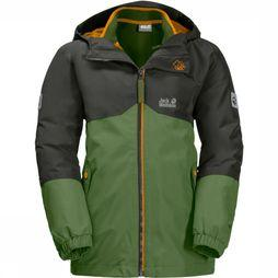 Jack Wolfskin Coat Iceland 3In1 green/dark green