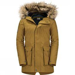 Jack Wolfskin Coat Elk Island 3In1 Parka dark yellow