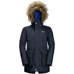 Jack Wolfskin Coat Elk Island 3In1 Parka dark blue