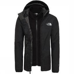 The North Face Jas Elden Rain Triclimate Zwart
