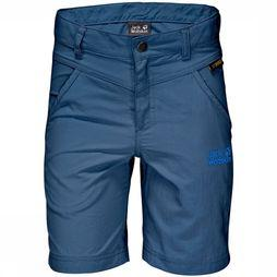 Jack Wolfskin Shorts Sunshorts mid blue/black