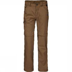 Jack Wolfskin Trousers Safari Zip-Off K mid brown