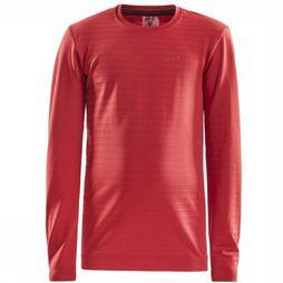 Craft Ondergoed Warm Comfort Ls J Middenrood
