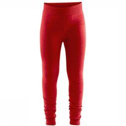 Craft Pantalon Warm Comfort J Rouge Moyen