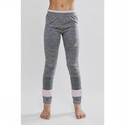 Craft Pantalon Fuseknit Rose Clair/Gris Moyen