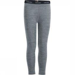 Icebreaker Trouser Kids 200 Oasis Dark Grey Mixture