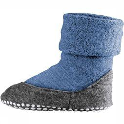 Falke Slippers Cosyshoe mid blue