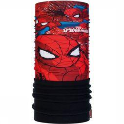 Buff Buff Junior Polar Spiderman Approach Black Noir/Rouge