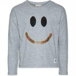 AO76 T-Shirt Smile Light Grey Mixture