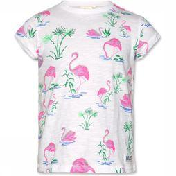 AO76 T-Shirt Flamingo off white/Assortment