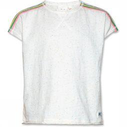 AO76 T-Shirt Multi Stripes Gebroken Wit/Assortiment