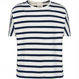 The New T-Shirt Kathrine dark blue/off white
