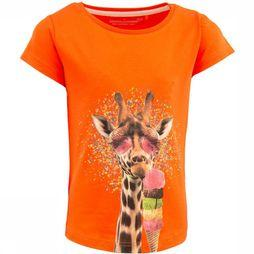 Stones and Bones T-Shirt Camille Giraf Orange