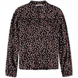 Garcia Shirt H92633 black/Assortment Flower