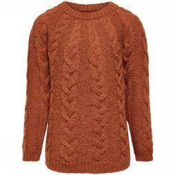 Kids Only Trui vicky L/S  Cable Pullover Knt Kameelbruin