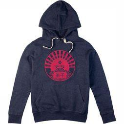 Osaka People Pullover Deshi Pink Sun dark blue