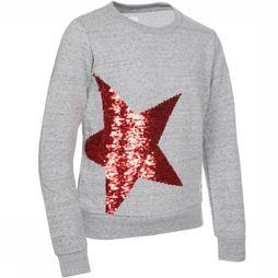 AO76 Pull Star Gris Clair Mélange