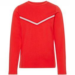 Name It Pullover flornelia Ls Top red