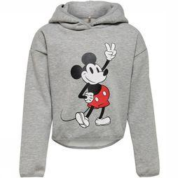 Kids Only Pull Konmickey L/S Top Box Swt Gris Clair Mélange