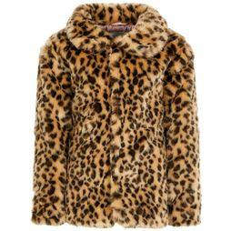 Name It Manteau fmona Faux Fur Brun/Assortiment Camouflage