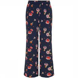 Lmtd By Name It Pantalon Nlfocami Wide Pant Bleu Foncé/Assortiment Fleur