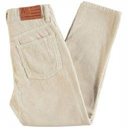 AO76 Trouser Corduroy Dora off white