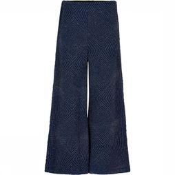 The New Broek Nicole Wide Leg Donkerblauw