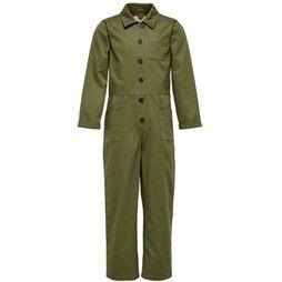 Kids Only Jumpsuit ruby Button mid khaki
