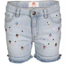 AO76 Short Kelly Icecream Jeans/Lichtblauw