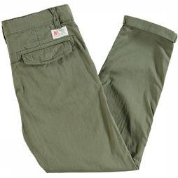 AO76 Broek Bill Relaxed Middenkaki