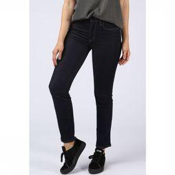 Levi's Jeans 724 High-waisted Straight Donkerblauw