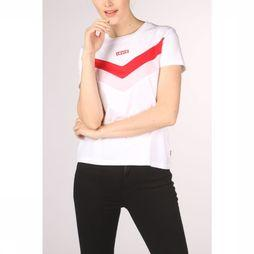 Levi's T-Shirt Florence Tee Wit/Lichtroze