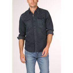 Levi's Hemd Barstow Western Donkergrijs