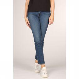 Levi's Jeans 724 High Rise Straight Middenblauw