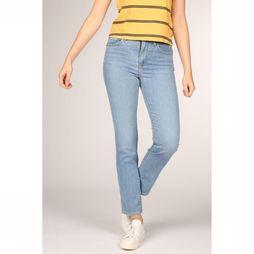 Levi's Jeans 724 High Rise Straight Bleu Clair