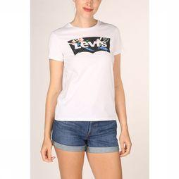 Levi's T-Shirt The Perfect Wit/Assortiment Bloem