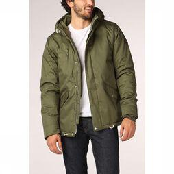 Haze & Finn Coat Mu12-1005 dark khaki