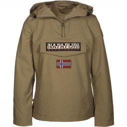 Napapijri Coat Rainforest Wmn Summer 1 light khaki