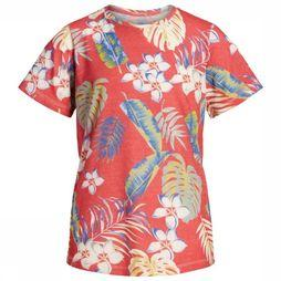 Jack & Jones T-Shirt orvole Rouge/Assortiment Fleur