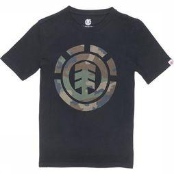 Element T-Shirt Foundation Icon Ss Boy Noir
