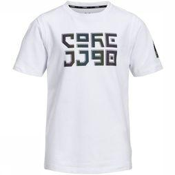 Jack & Jones T-Shirt Jcojagger Tee Ss Crew Neck Junior Blanc