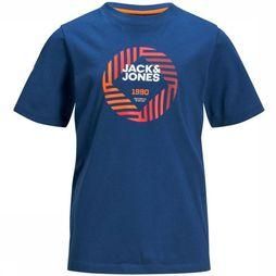 Jack & Jones T-Shirt Jcofriday-Disc Blauw
