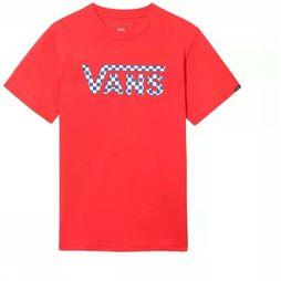 Vans T-Shirt By Classic Logo Fill Rouge