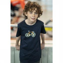 Vive le Velo T-Shirt T-Bike dark blue